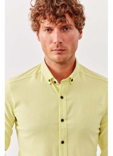 Manche Gömlek Sarı